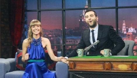 России в телешоу вечерний ургант